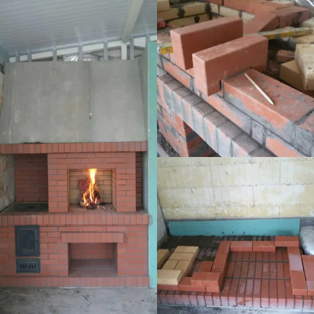 Строительство печек своими руками