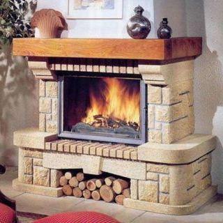 камин в доме дизайн фото