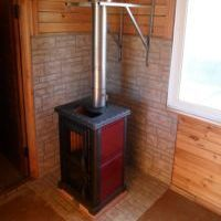 отопительная печь в дом фото