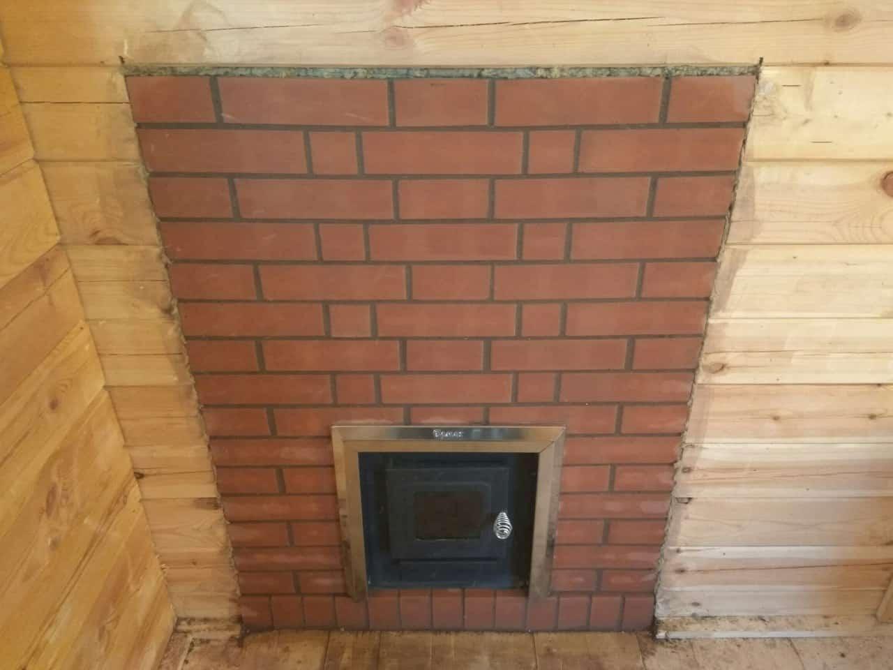 банная печь термофор в доме