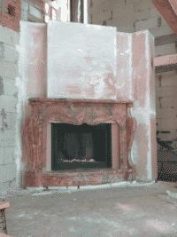 Конвекционный короб с сушильной камерой под отделку мрамором