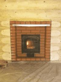 Портал из кирпича Lode для банной печи