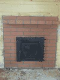 Банная печь Кострома кладка портала кирпичом