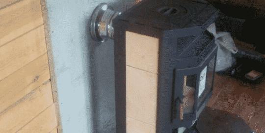 Печь камин группы Мета с варочной плитой
