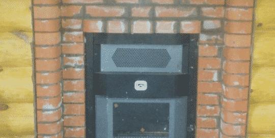 Банная печь Теплодар Сиеста с порталом